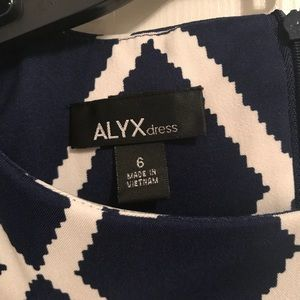 Blue & White Alyx Dress